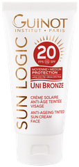Uni Bronze Anti-Ageing Tinted Sun Cream Face Spf20